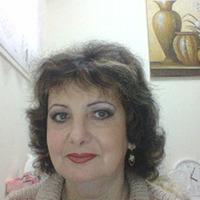 элина, 60 лет, Рак, Нетания