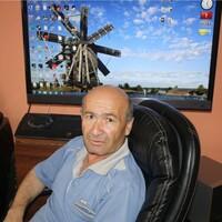 гагик, 63 года, Водолей, Курск