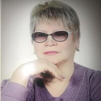 Любовь, 68 лет, Овен, Краснодар