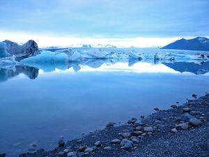 Лагуна Йокульсарлон - природная красота Исландии