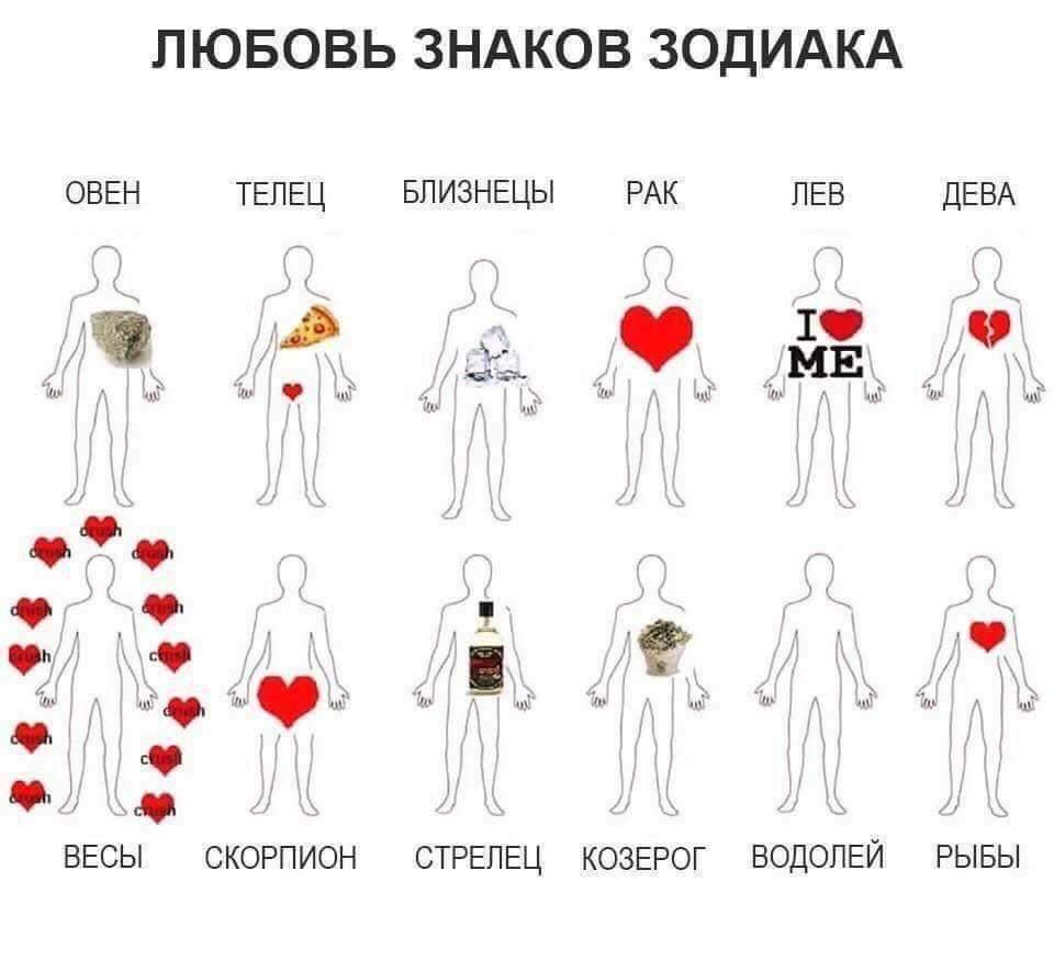 продолжала картинка где сердце у знаков зодиака домов