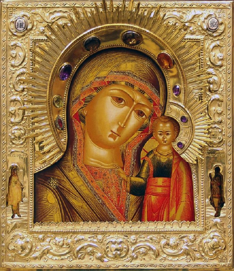 божья матерь казанская картинка фото женщина