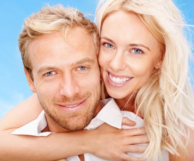 Блондин и блондинка картинки